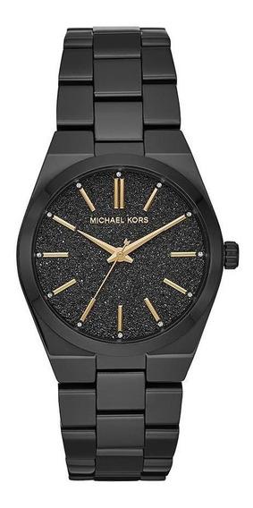 Relógio Feminino Michael Kors Channing Preto - Original