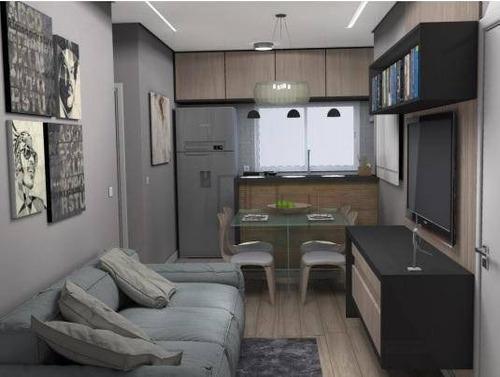 Apartamento À Venda, 54 M² Por R$ 180.000,00 - Vila Trujillo - Sorocaba/sp - Ap1632