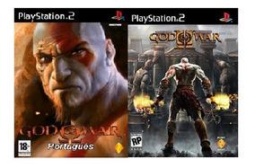 Patch God Of War 1 Ps2 + God Of War 2 Ps2 - Em Português!
