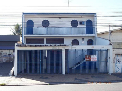 Salão Comercial Para Locação, Vila Pompéia, Campinas. - Sl0070