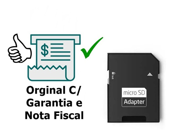 Adaptador Micro Cartão Sd Original Multilaser
