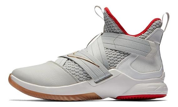 Tênis Nike Lebron Soldier 12 Light Bone,pronta Entrega.