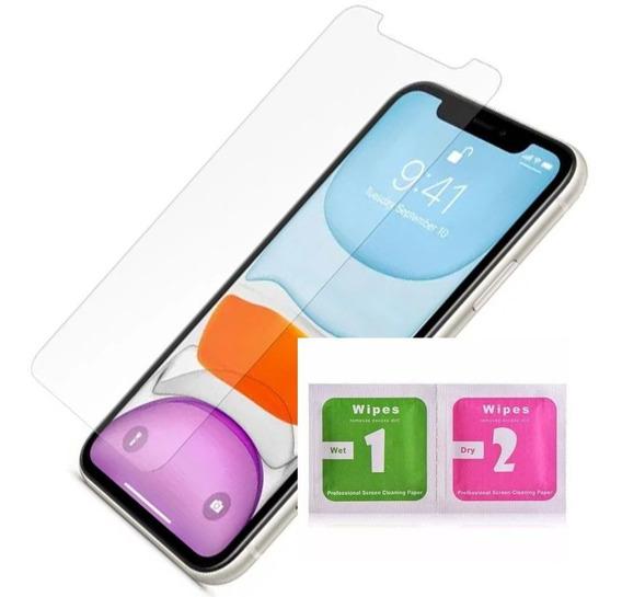 Película iPhone Vários Modelos Nano Gel + Kit Limpeza Earman