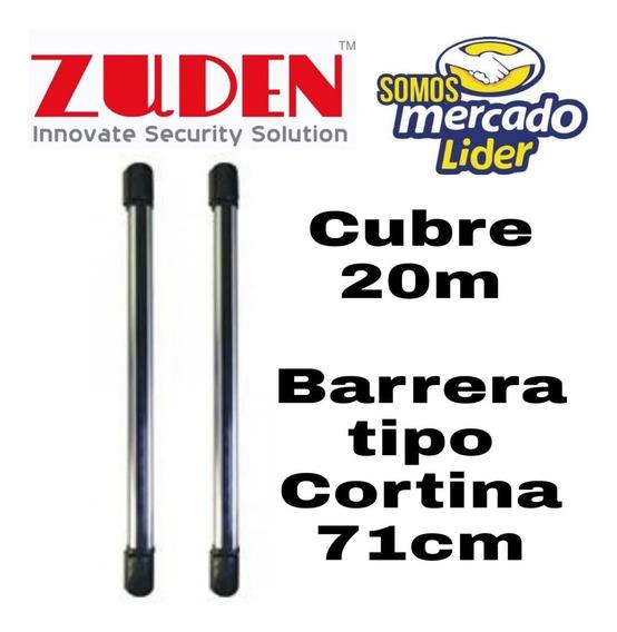 Barrera Infrarroja Tipo Cortina De 4 Haz 20metros Alto 71cm