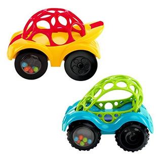 Sonajero De Una Pieza, O Ball, Roll Car, Colores Surtidos