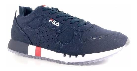 Tênis Fila Classic 92 - Marinho/branco/vermelho