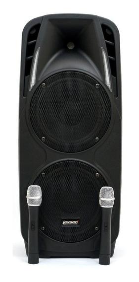Caixa Amplificada Lexsen Ls-210ab Usb Bt Sd Mic Bat 300 W
