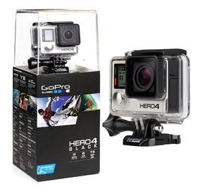Câmera Gopro Hero4 Black Kit Completo Original Reembalado