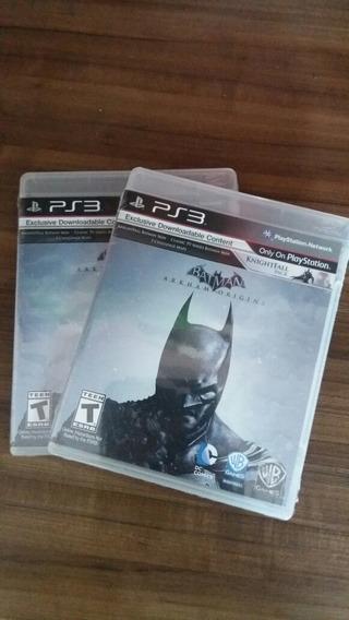Batman Arkham Origins Ps3 Lacrado