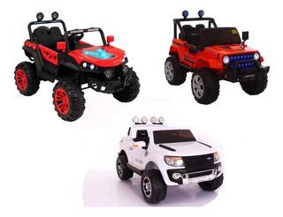 Carros A Batería Y Control Remoto Para Niños Varios Modelos