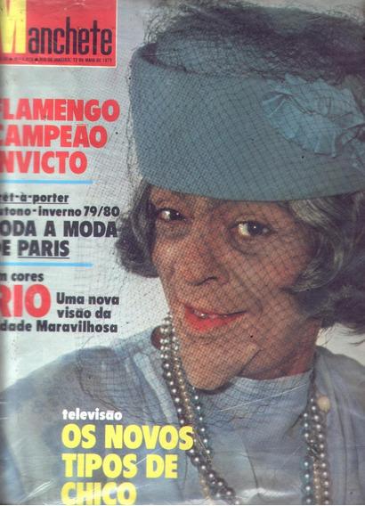 Manchete 1979.chico Anysio.flamengo.rio De Janeiro. Marinho