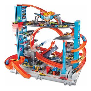 Hot Wheels Ultímate Garage Tower Shark Pista Tiburón New