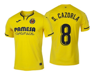 Camisa Villarreal 2020 - Cazorla, Bacca, Iborra, Chukwueze