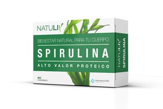Spirulina Natuliv (60 Comp) Complejo Multivitamínico Nuevo