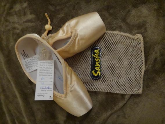 Zapatillas De Ballet Puntas Sansha Lyrica Model 404 8x