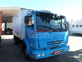 Mercedes-benz Mb 712 2001 Baú Mb 712c= 914 915 710 Mb