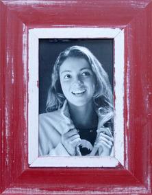 Porta Retratos De Mesa Para Foto 10x15 Cm Cancun Vermelho