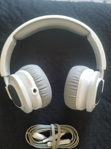 Fone De Ouvido Jbl Supra Auricular Com Microfone J55 Branco