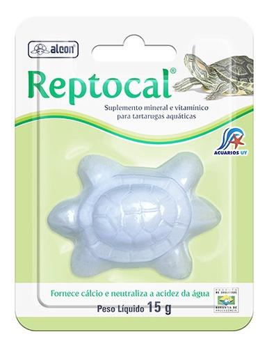 Imagen 1 de 2 de Complemento De Calcio P/tortugas. Labcon Reptocal 15g