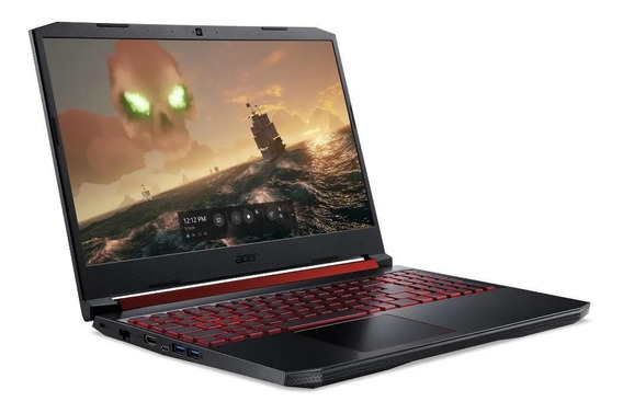 Notebook Gamer Acer An515-54-56sa I5 16gb Gtx 1650 1tb 256gb