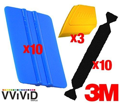 Vvivid 3m Vinyl Wrap Bulk Toolkits Multi-piece Applicator