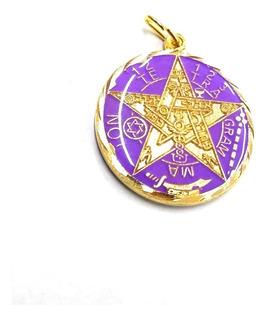 Pentagrama O Tetragrammatón Ritualizado - 7 Metales Visibles
