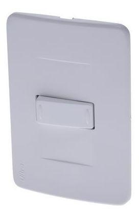 Interruptor Sencillo Conmutable Ultra Blanco Ciles