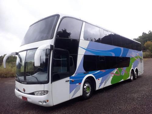 Ônibus Marcopolo 1800 Dd G6 Mercedes 0500 Ú Dono Leito  Novo