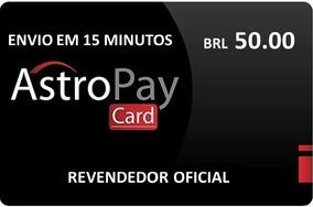 Cartão Astropay 50 Brl. O Mais Barato Do Mercado Livre
