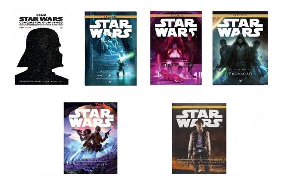 Kit Com 6 Livros Star Wars - Pronta Entrega