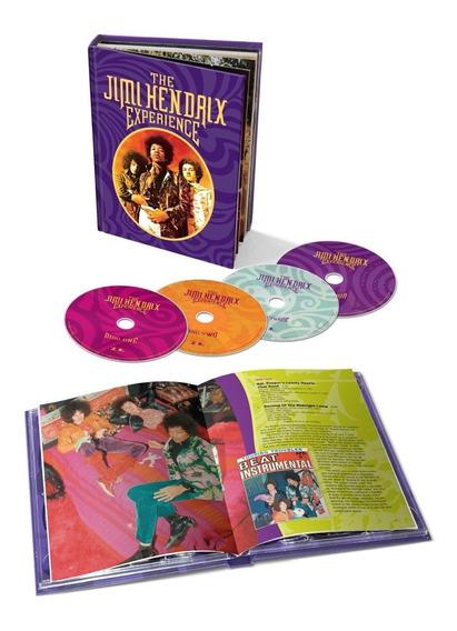 Box The Jimi Hendrix Experience (60 Faixas + Livreto 80 Pág)