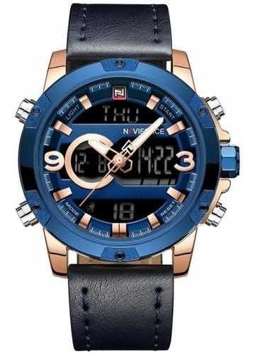 Relógio Masculino Naviforce 9097 Oferta Original