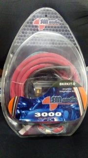 Kit De Cable N# 0 De Instalación Sonido Carro