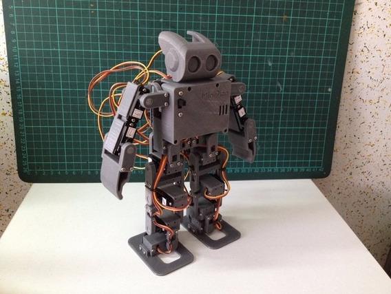 Peças De Chassi De Robô Japonês Bípede Arduino