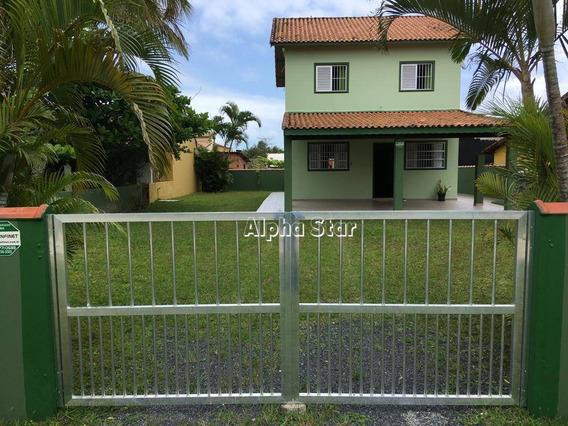 Casa Com 3 Dormitórios À Venda, 180 M² Por R$ 280.000 - Balneário Maria De Lourdes - Ilha Comprida/sp - Ca3055