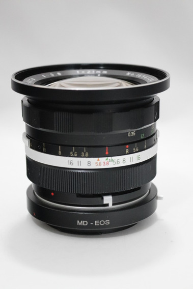 Grande Angular Wide Soligor 21mm F/ 3.8 Md Canon Ef