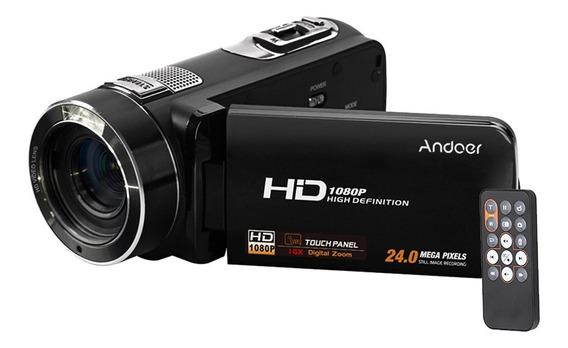 Andoer Hdv-z8 Filmadora Com Câmera Vídeo Digital Completo Hd