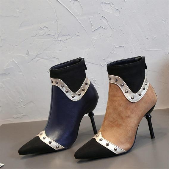 Ankle Boot Feminina Heneni 56501 Importado Frete Grátis