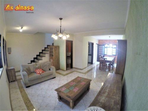 Imagem 1 de 20 de Sobrado Condominio Fechado Com 3 Dormitórios À Venda, 150 M² Por R$ 630.000 - Cidade Brasil - Guarulhos/sp - So0019
