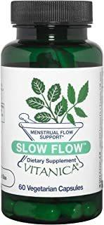 Vitanica, Slow Flow, Menstrual Flow Support, 60 Vegetarian C
