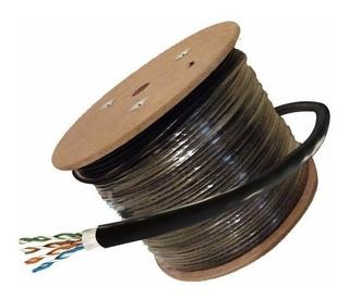 Cable Bobina De Red Utp Noga Cat 5e Exterior Rollo 305m