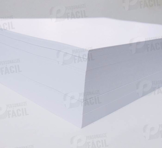 Papel Sulfite A5 90g Papel Offset Branco 90 Gr 1000 Und Fino