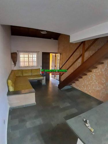 Imagem 1 de 12 de Casa Sobrado Na Praia Do Capricórnio Em Caraguatatuba - 2058