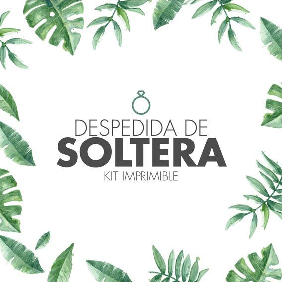 Kit Juegos + Props + Deco Imprimible Despedida De Soltera!