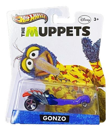 Hot Wheels Disney Mattel The Muppets Gonzo 2012 Y0769