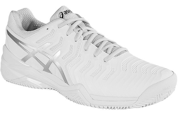 Tênis Asics Gel Resolution 7 Clay(saibro) Branco E702y.0193