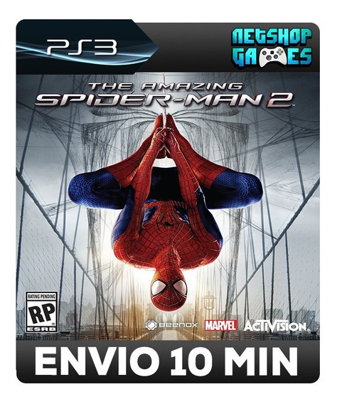 Homem Aranha 2 - The Amazing Spider-man 2 - Psn Ps3