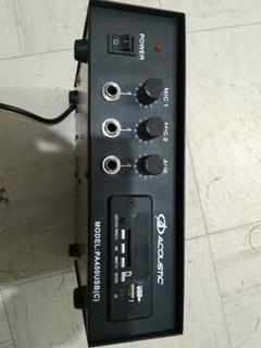 Amplificador De Megáfono 12v Para Vehículo