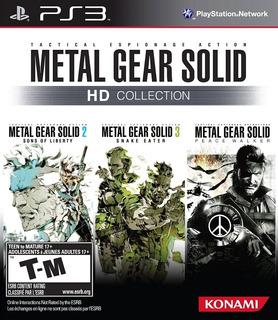 Metal Gear Solid Hd Collection Ps3 Original Entrega Inmediat