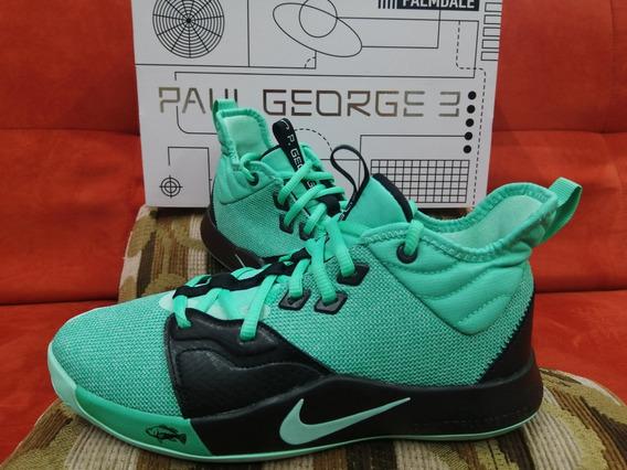 Tenis De Basquetbol Nike Paul George Vol.3 Menta Green